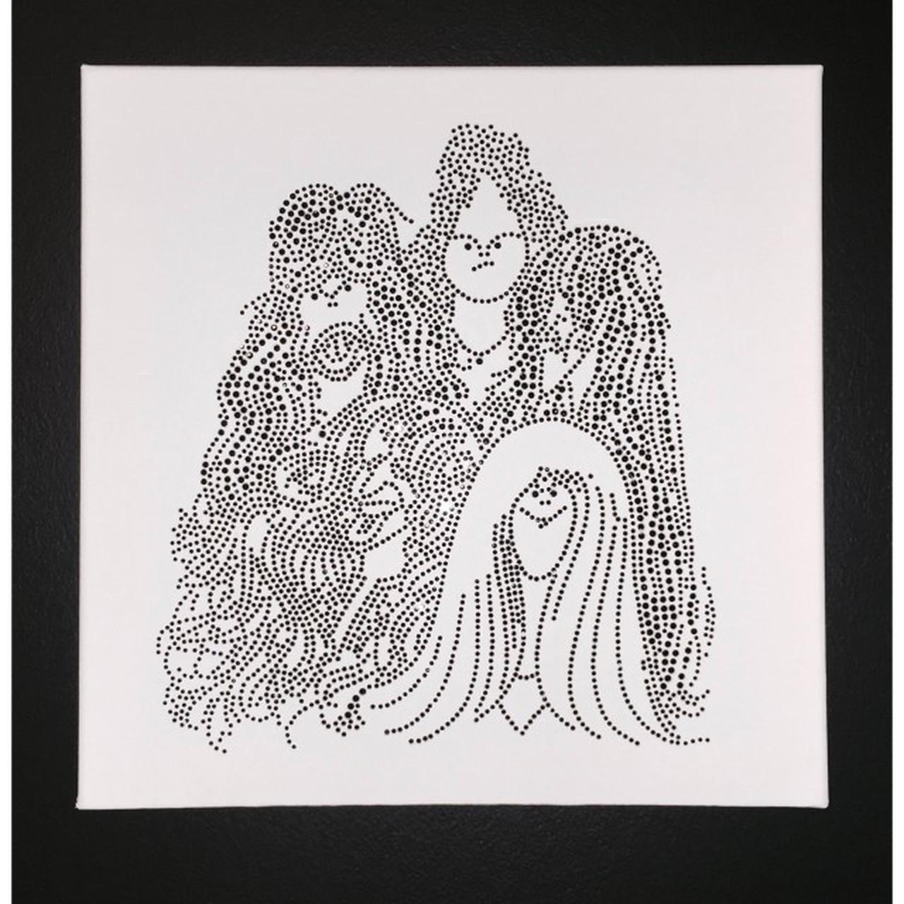 Aerosmith Iconic Draw The Line Bling Canvas