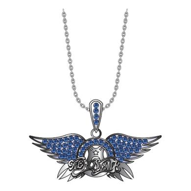 Aerosmith Crystal Wings Bling Necklace