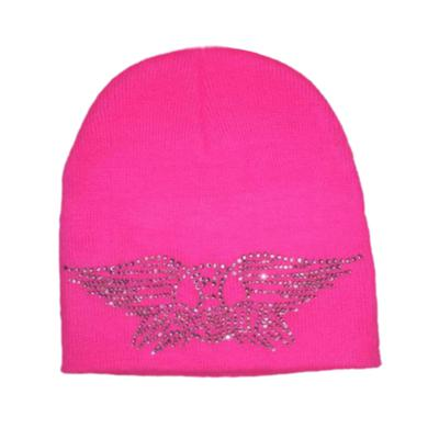 Aerosmith Wings Logo Beanie