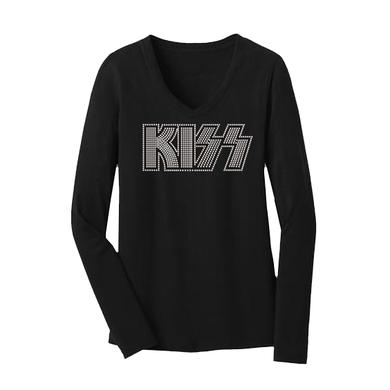 Kiss Women's Long-Sleeve Bling