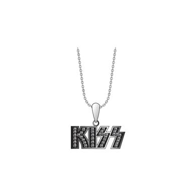 Kiss Women's Limited Edition Bling Necklace - Black