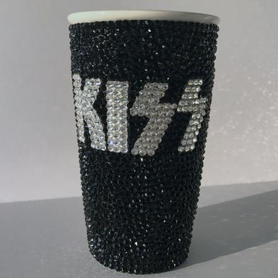 Kiss Swarovski Logo Coffee Tumbler