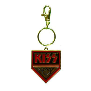 Kiss Army Gold Keychain