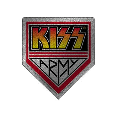 Kiss Army Silver Sticker