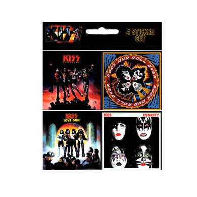 Kiss Album Sticker Set