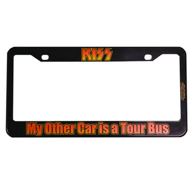 Kiss License Plate Frame