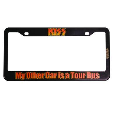 Kiss License Plate Frame