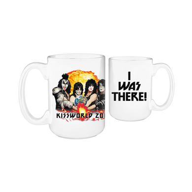 Kiss 'I Was There' Tour Mug
