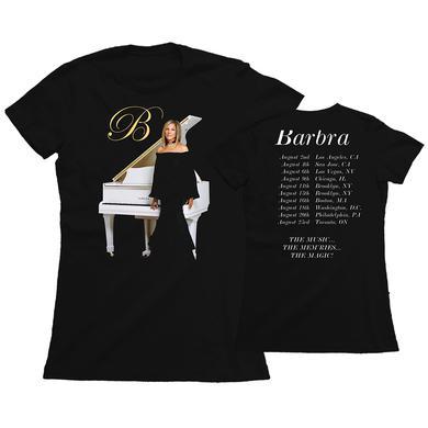 Barbra Streisand White Piano (women)