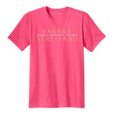 Barbra Streisand Crystal Bling Unisex Concert Crew