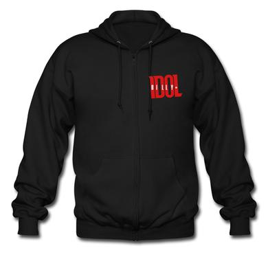 BIlly Idol  (Zip Hoodie)