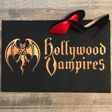 Hollywood Vampires Logo Doormat