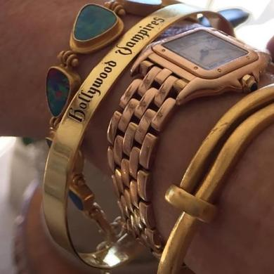 Hollywood Vampires Logo Bracelets