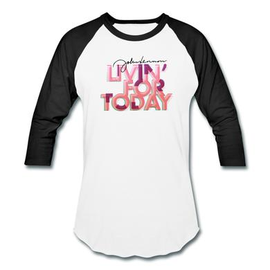 John Lennon Livin' For Today (raglan)