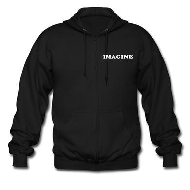 John Lennon IMAGINE (zip hoodie)