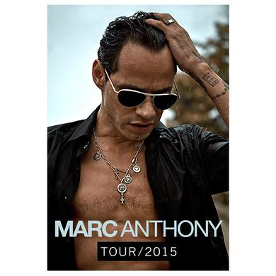 Marc Anthony 2015 Tour Poster