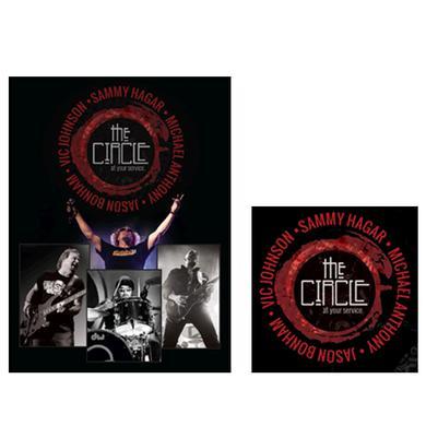 Sammy Hagar Circle CD + DVD Bundle
