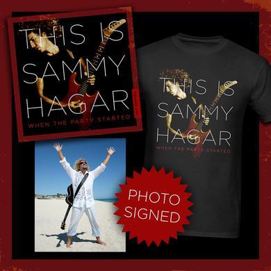 Sammy Hagar LIMITED SIGNED This Is Sammy Bundle