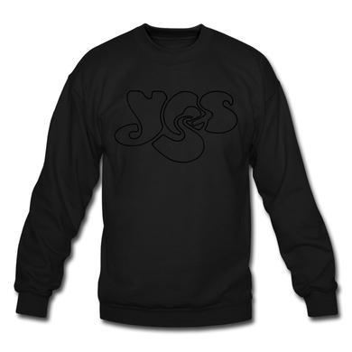 Yes Black on Black (crewneck)