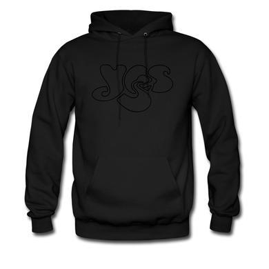 Yes Black on Black (hoodie)