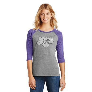 Yes Bling Logo Baseball 3/4 Sleeve