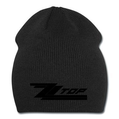 ZZ Top Black on Black (beanie)