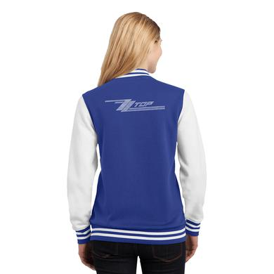 ZZ Top Pocket Bling Letterman Jacket