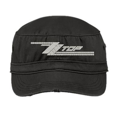 ZZ Top Bling Military Cap