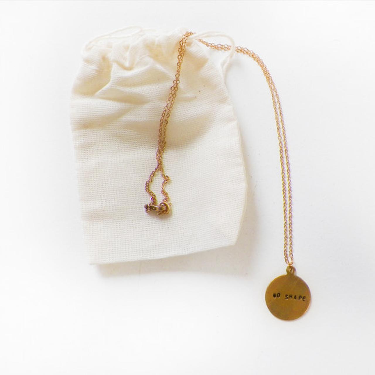 Perfume Genius No Shape Charm Necklace