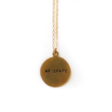 Perfume Genius No Shape Charm Necklace