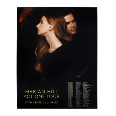 Marian Hill Act One 2016 Tour Poster