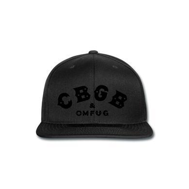 CBGB Skull Cap (flock)
