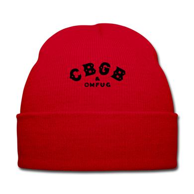 CBGB Fold-Over Beanie