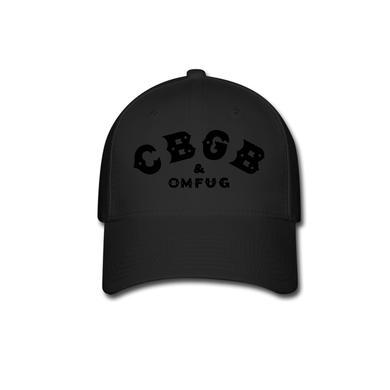 CBGB Black on Black (baseball cap)