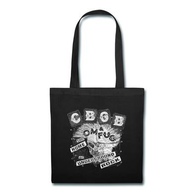 CBGB Back Patch tote