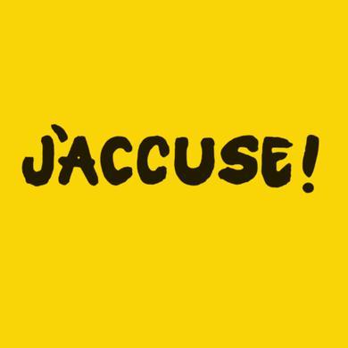 3 Loop Music Jack Adaptor - J'Accuse (Signed LP) Heavyweight LP (Vinyl)