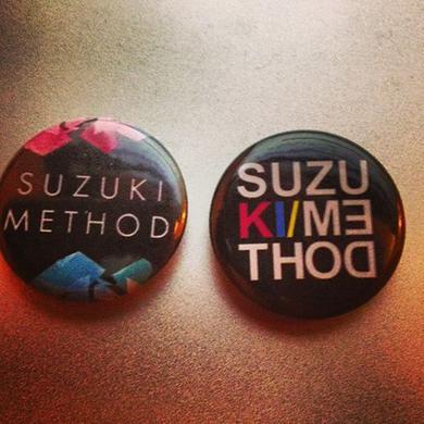 A1M Records Suzuki Method Badge Set