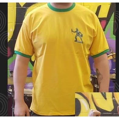 A1M Records Missing Peace Summer 2018 Yellow T-Shirt
