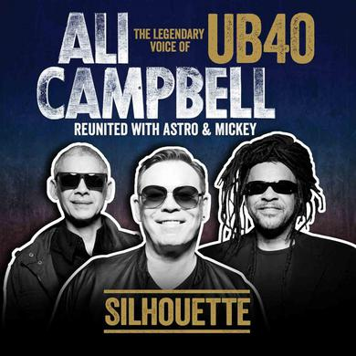 Ali Campbell Silhouette (The Legendary Voice Of UB40 Reunited With Astro & Mickey) (Vinyl) Includes CD of the album Double LP