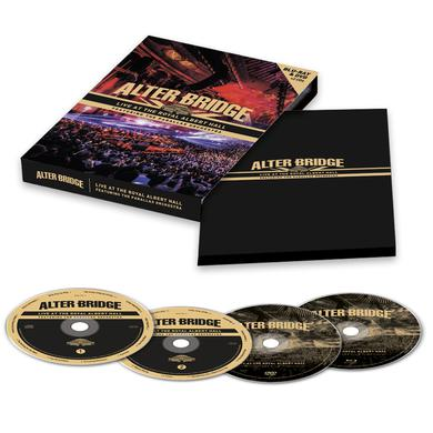 Alter Bridge Live At The Royal Albert Hall Featuring The Parallax Orchestra Blu-Ray + DVD + 2CD Deluxe CD