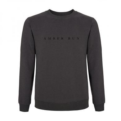 Amber Run Grey Text Sweatshirt