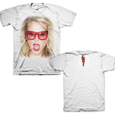 Anastacia Official Ultimate Collection White Sunglasses T Shirt