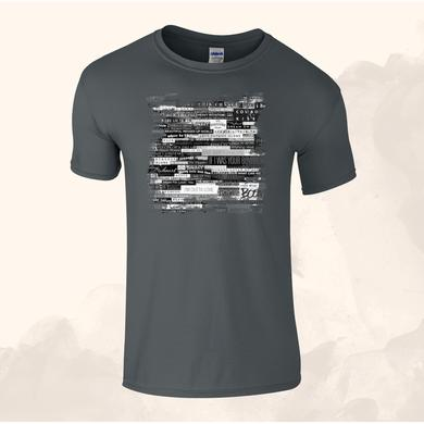 Anastacia Mens Online Exclusive Grey T-Shirt