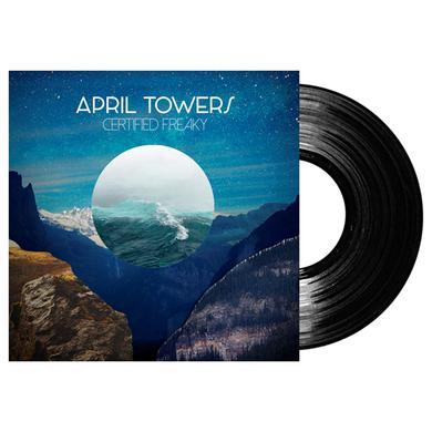 APRIL TOWERS Signed Certified Freaky LP LP (Vinyl)