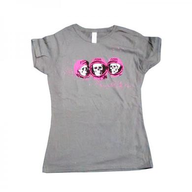 Ash Skulls Grey T-Shirt