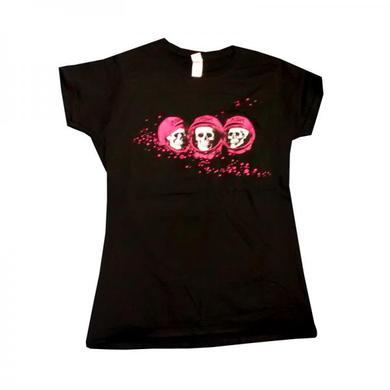 Ash Skulls Black T-Shirt