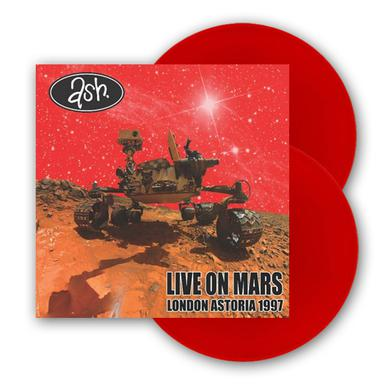 Ash Live On Mars, London Astoria 1997 - 2LP Vinyl Album (Ltd Edition Red Vinyl) Double Heavyweight LP