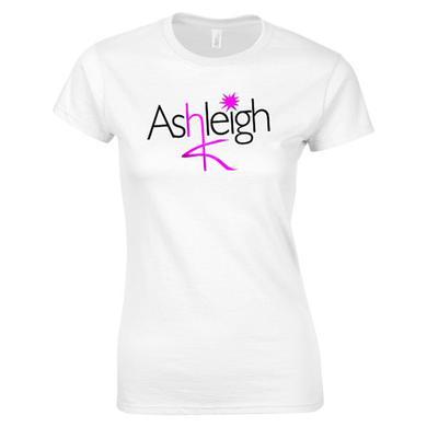 Ashleigh K Girls Logo White T-Shirt