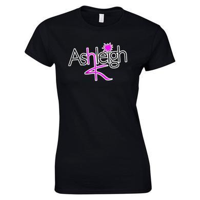 Ashleigh K Girls Logo Black T-Shirt