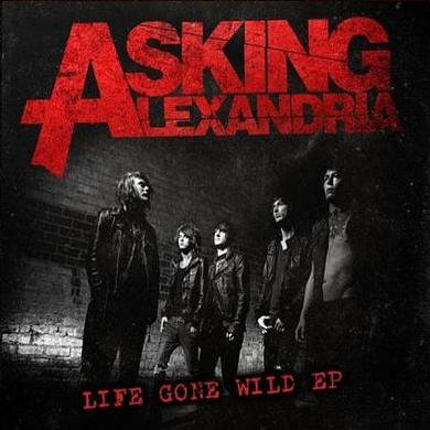 Asking Alexandria Life Gone Wild EP CD (Vinyl)